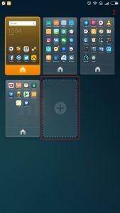 Добавление рабочего стола Xiaomi
